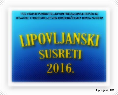 Program Lipovljanskih susreta 2016.