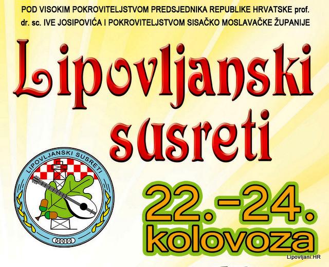 Poziv na LIPOVLJANSKE SUSRETE 2014.