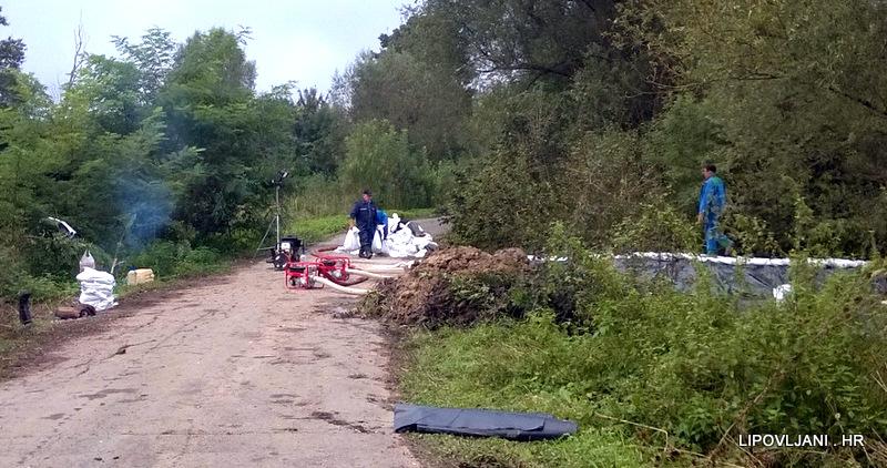 ODLUKA o privremenom zatvaranju nerazvrstane ceste prema Trebežu i Lonjskom polju