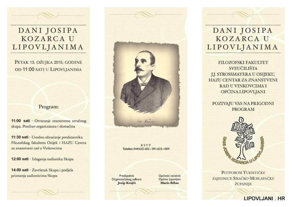 1-Pozivnica-III. Dani Josipa Kozarca u Lipovljanima_Page_1-001