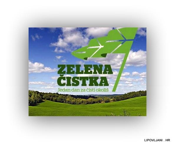 """Općina Lipovljani poziva Vas na sudjelovanje u ekološkoj akciji """"Zelena čistka 2018."""" – jedan dan za čisti okoliš, a koja će se provoditi u sklopu obilježavanja Dana planeta Zemlja."""