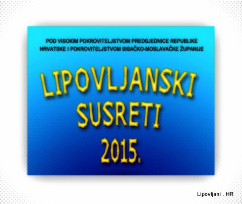 Program Lipovljanskih susreta 2015
