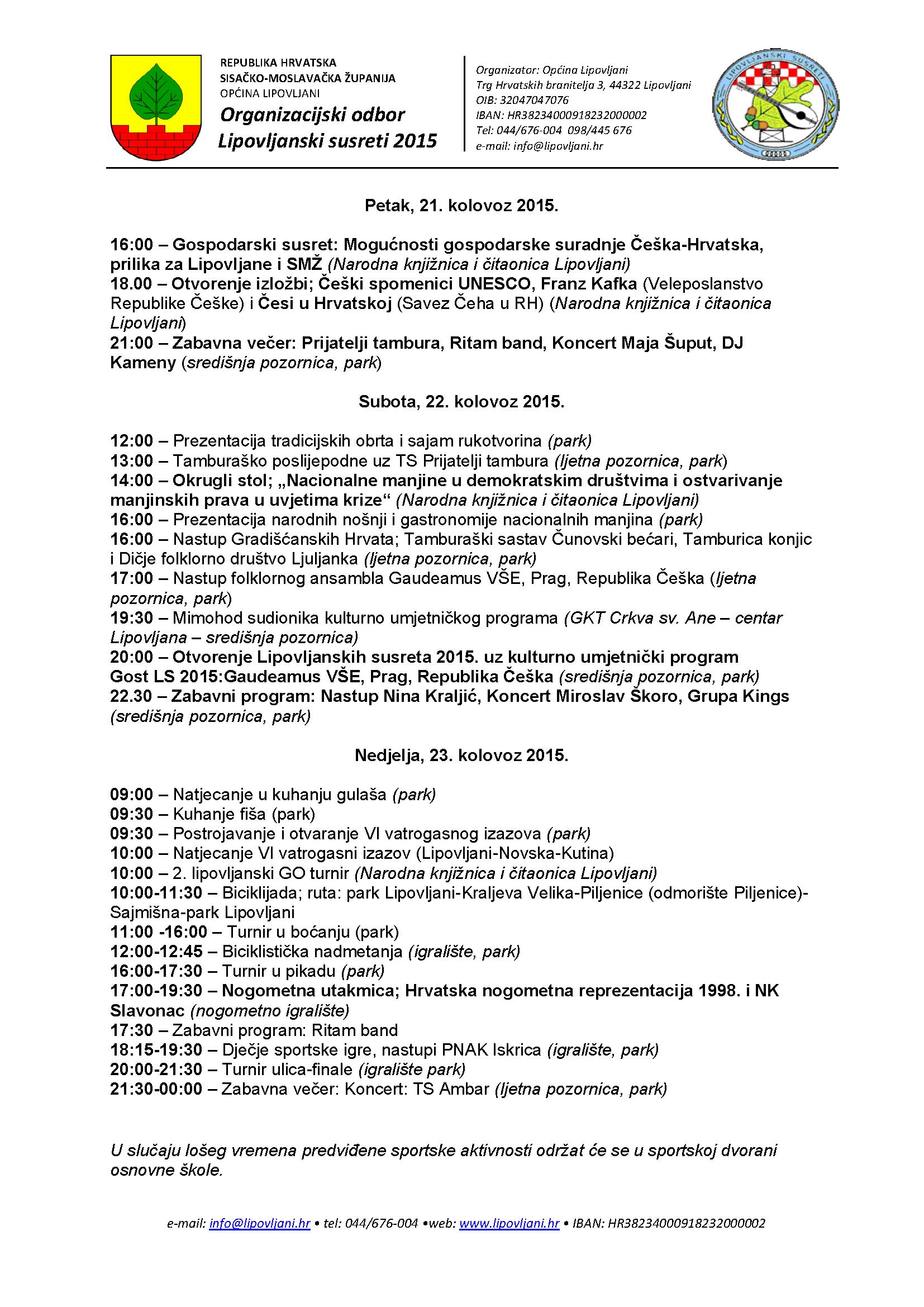 Programska satnica LS2015-konačna verzija