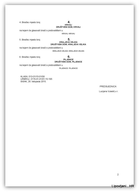 1-RJEŠENJE O BIRAČKIM MJESTIMA SABOR_Page_2