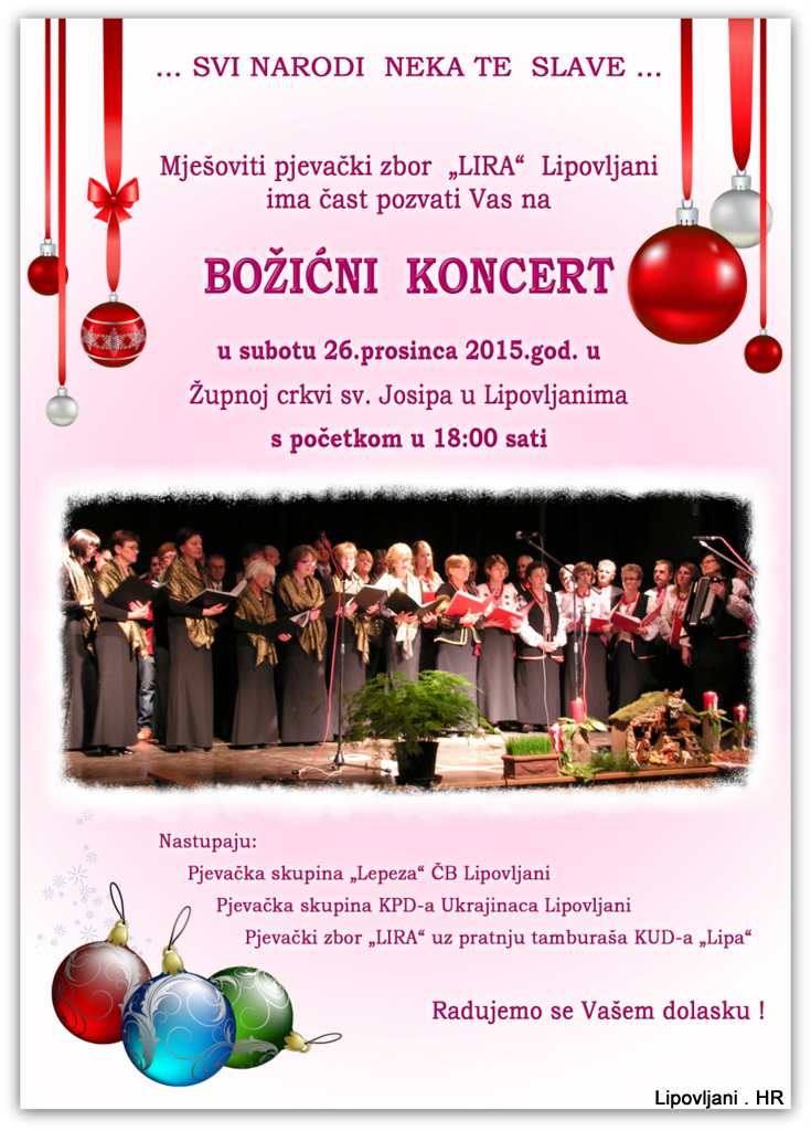 1-božićni koncert