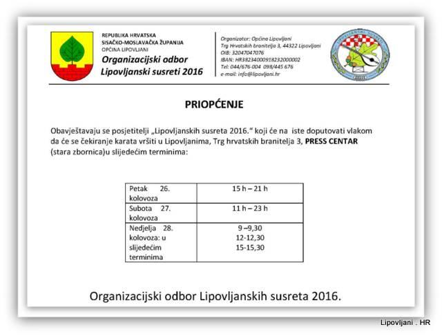 1-Raspored potvrđivanja povratnih karata za ostvarivanje popusta na željeznički prijevoz za LS2016-001
