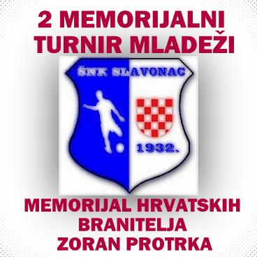 2 MEMORIJALNI TURNIR MLADEŽI, MEMORIJAL HRVATSKIH BRANITELJA ZORAN PROTRKA
