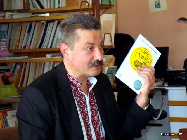 UKRAJINSKI DIPLOMAT JURIJ LISENKO ODLIČNO PIŠE POEZIJU ZA DJECU NA HRVATSKOM