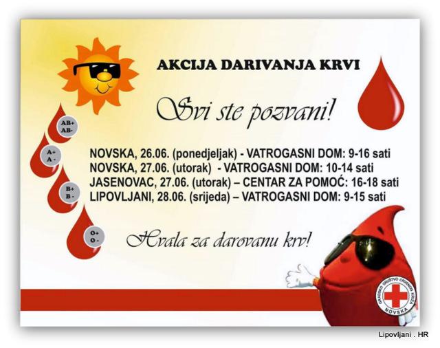 Najava ljetne akcije Dobrovoljnog darivanja krvi