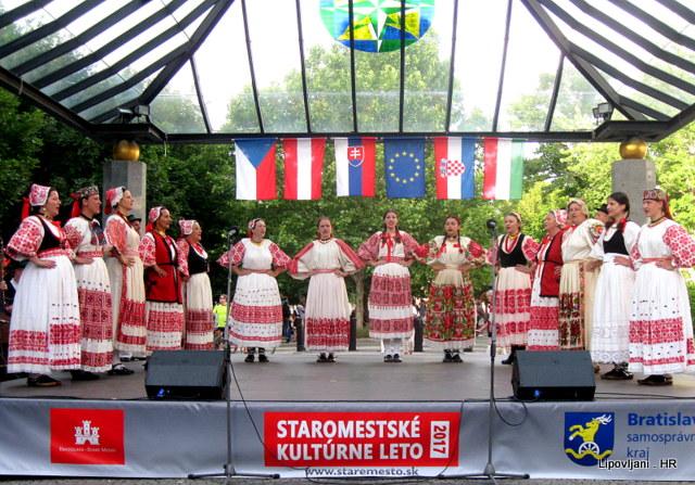 Gostovanje Matice slovačke sa Lipom i Lirom u Bratislavi