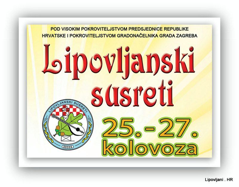 PROGRAM LIPOVLJANSKIH SUSRETA 2017.