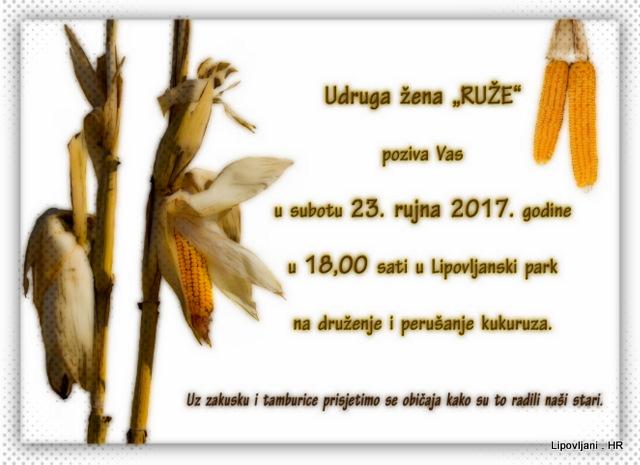 DRUŽENJE UZ PERUŠANJE KUKURUZA 2017.