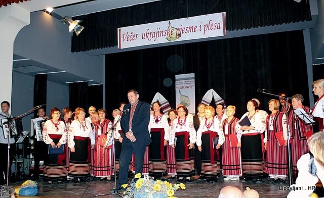 Večer ukrajinske pjesme i plesa rasplesala i raspjevala Lipovljane