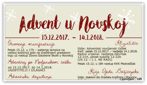 Advent u Novskoj