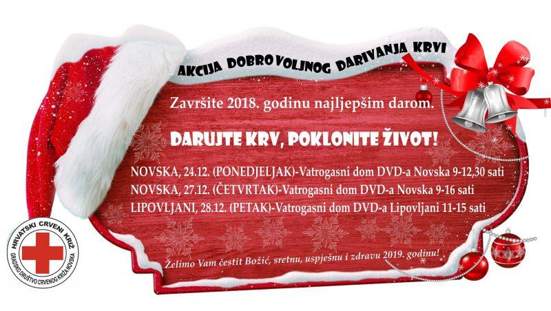 Božićno-novogodišnja akcija dobrovoljnog darivanja krvi