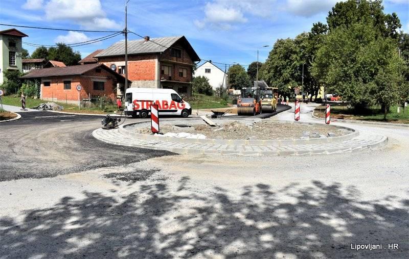 Započelo asfaltiranje završnog dijela uređenja centra Lipovljana