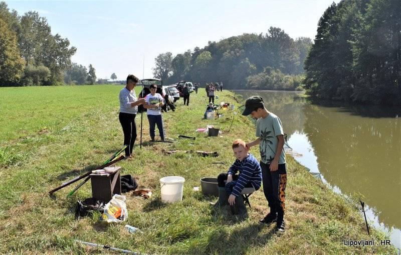 Na Pakri održano godišnje natjecanje ribolovaca ŠRD 'Šaran'