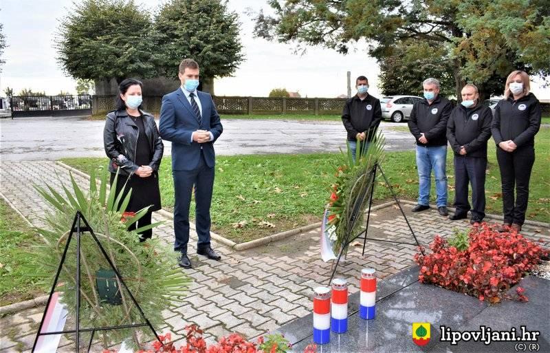 Uz cvijeće i svijeće obilježen Dan branitelja općine Lipovljani
