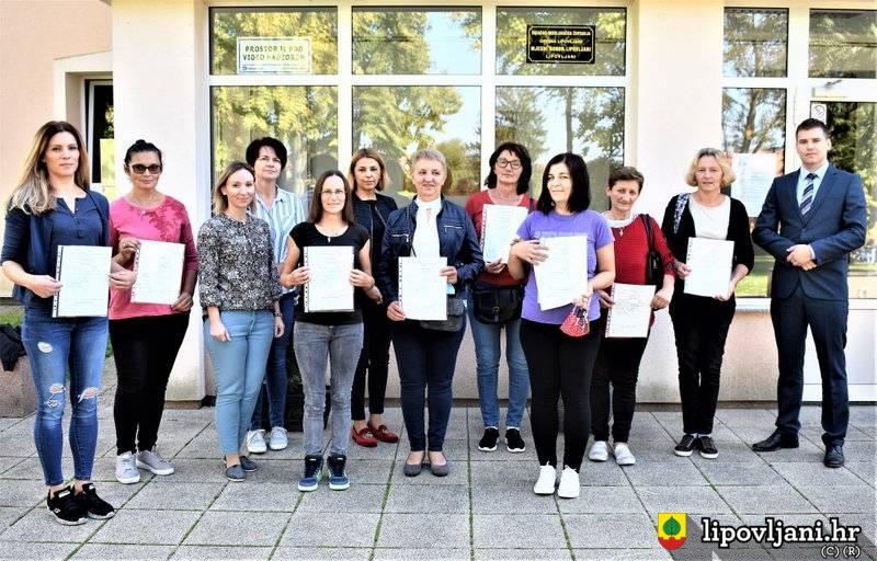 Uručena uvjerenja dodatnog obrazovanja ženama projekta 'Zaželi i ostvari'
