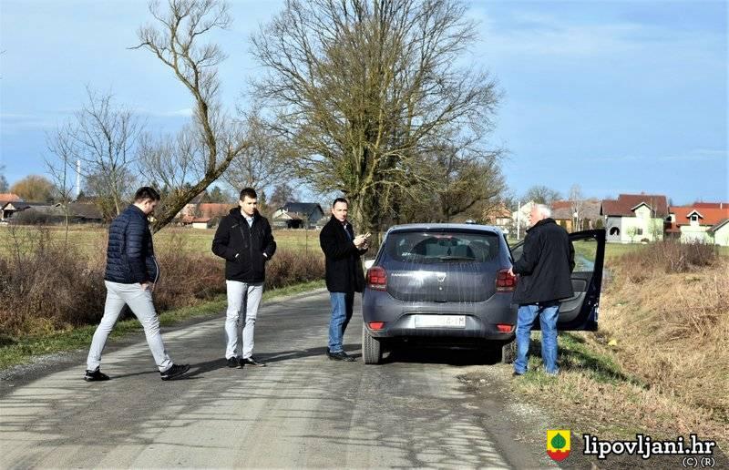 Najava uređenja i asfaltiranja županijske ceste Lipovljani -Piljenice