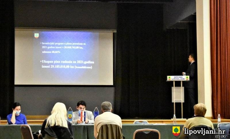 Općinski načelnik predstavio proračun za 2021. godinu u iznosi većem od 22 milijuna kuna